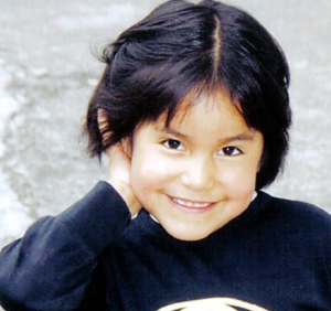 Peruvian Child Smiling.